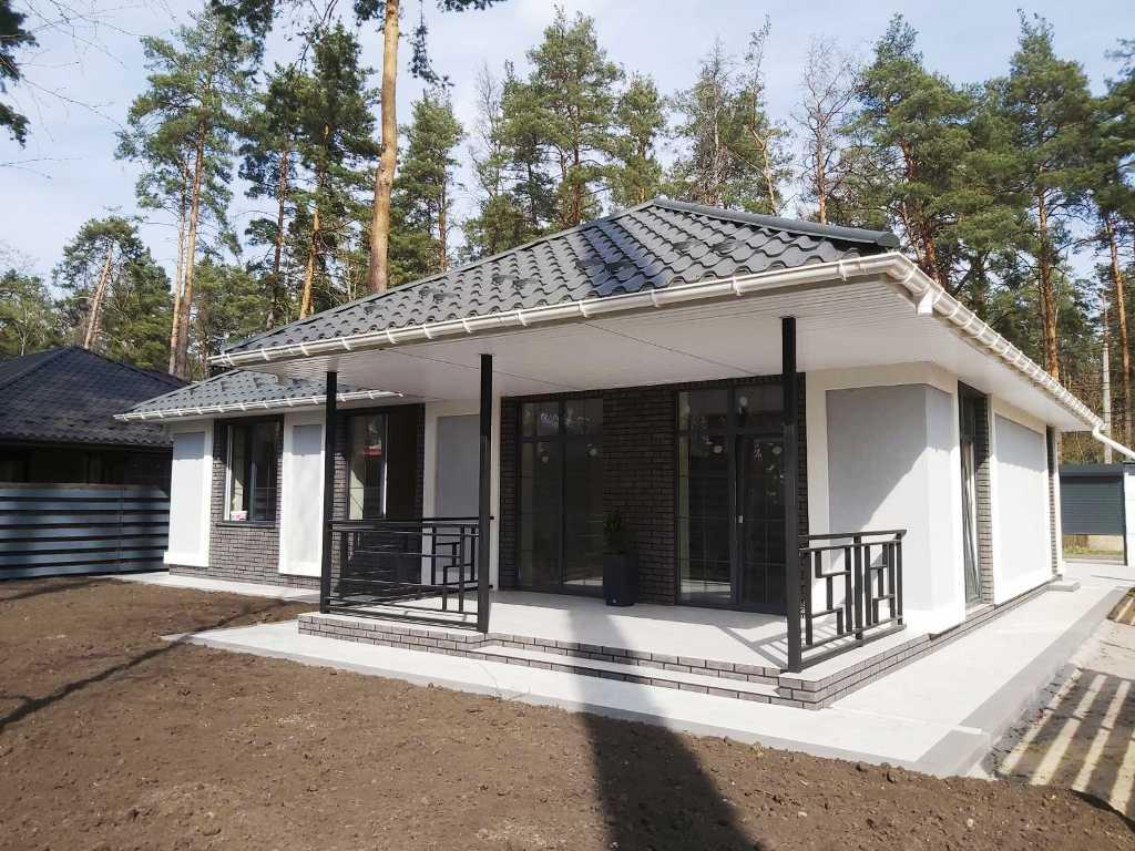Буча Лісова, продаж стильного одноповерхового будинку